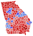 Georgia Election Results by County - Magog the Ogre, CC0
